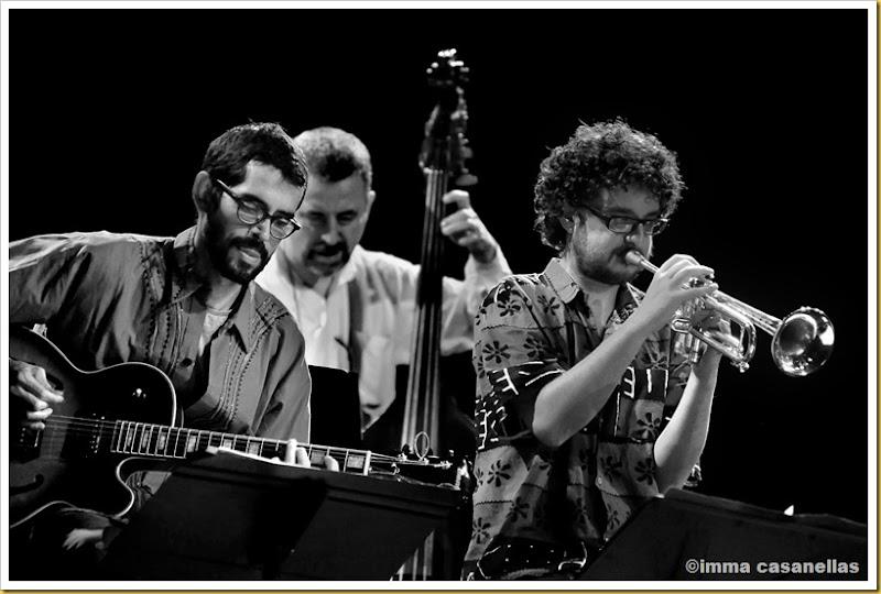 Jaume Llombart, Jordi Gaspar i Voro García (Barcelona, 2012)