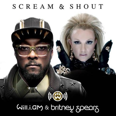 Britney Spears scream and shout