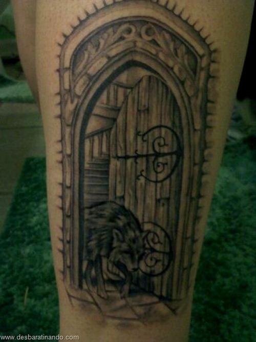 tatuagens harry potter tattoo reliqueas da morte bruxos fan desbaratinando (28)