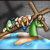 II estaçãoJesus carrega a Cruz