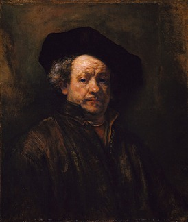 rembrandt self portrait 1660