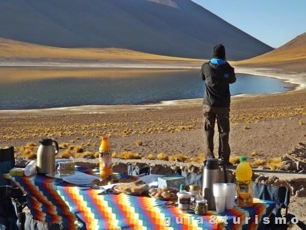 Café nas lagunas