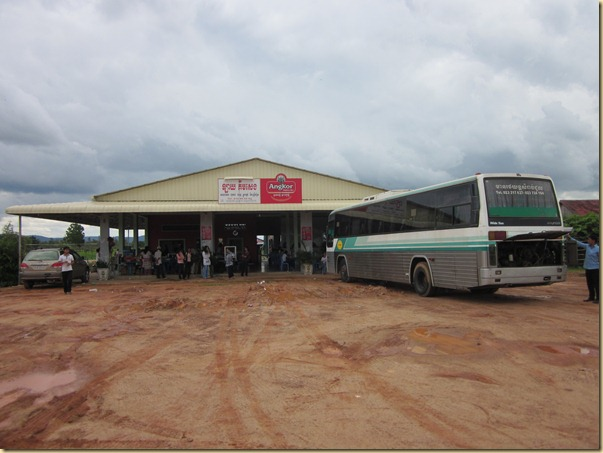 Reststop on the way to Phnom Penh