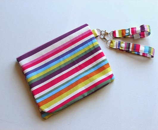 rainbow stripe nappy wallet hand sanitiser holder charity auction