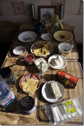 024-petit dejeuner chez Galina
