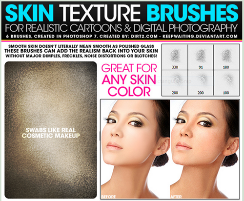 skin texture psd brushes