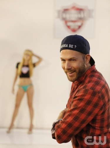 Johnny Wujek on America's Next Top Model Season 19 College Edition