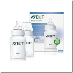 AVENT 260ml 9oz PP BOTTLE Twin pack