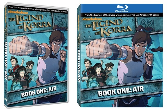 Capa The Legend of Korra - DVD - Blue-Ray