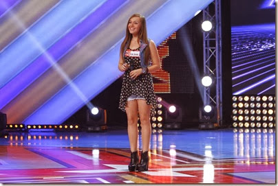 madalina lefter x factor
