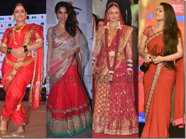 Bollywood_Red_Sarees_2012 (1)