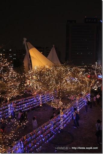 2010台北燈節(台北燈會)-樹燈