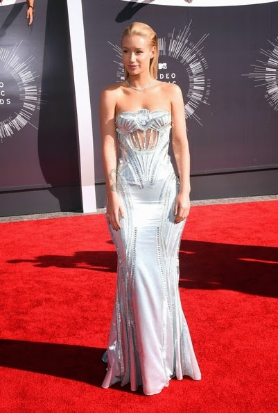 Iggy Azalea Arrivals MTV Video Music Awards