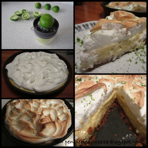 Key lime pie  meringue 1