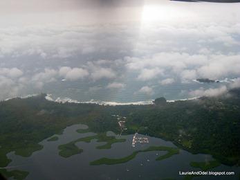 First glimpse of Bocas del Toro