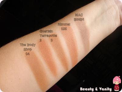 Swatches bronzer & sculpt