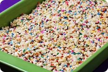 cake-batter-rice-krispies-in-pan
