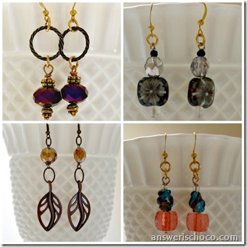 Four Pair o Earrings