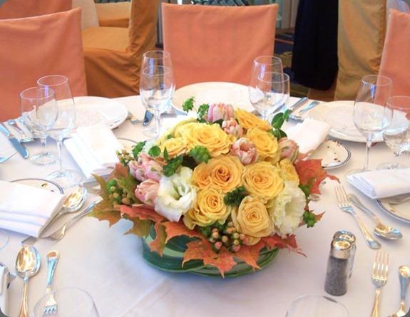 medyellow-centerpiece-4  L'Oasis floral design