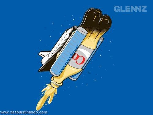 desenhos geeks nerds geek nerd desbaratinando glenn (2)