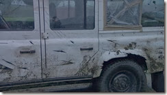 Trollhunter Land Rover Damage