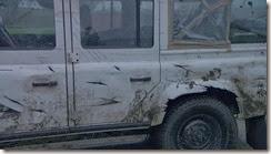 Trollhunter Land Rover Damage