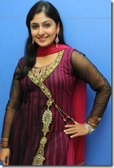 Actress Monica in Churidar Cute Pics
