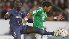 St Etienne vs Paris Saint-Germain