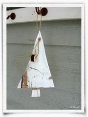 kerstboompje sloophout