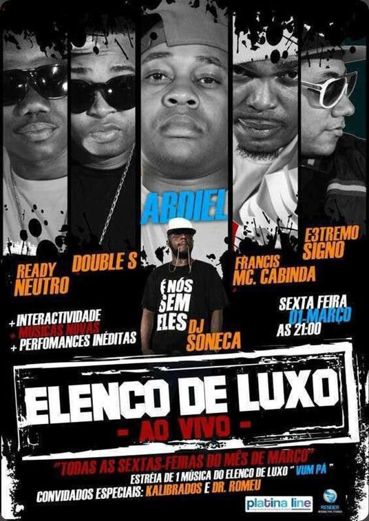 Elenco de Luxo no Bahia