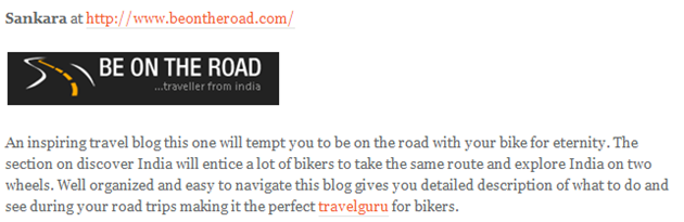 Dealstan Shopping Blog • Top 10 Indian Bloggers who Write on Biking 1