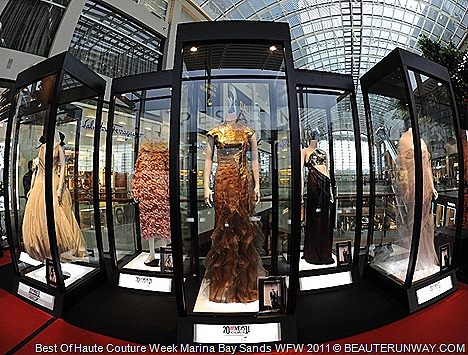 Alexis Mabille Dominique Sirop Haute Couture Exhibition Marina Bay Sands Singapore