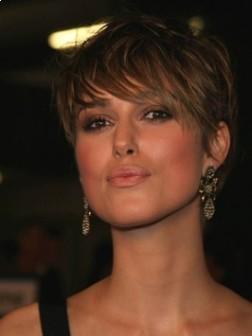 Keira Knightley Short Haircut Style