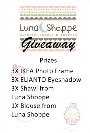 new giveaway prizes