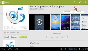 MusicDropNPLite for dropbox