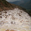 Inca salt pans in Mara
