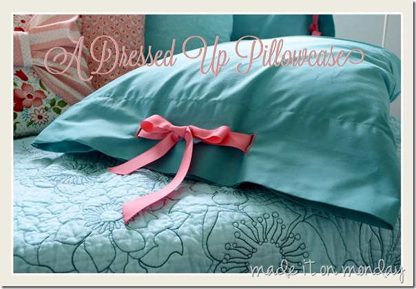 Dressed Up Pillow Case
