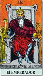 carta del tarot el emperador