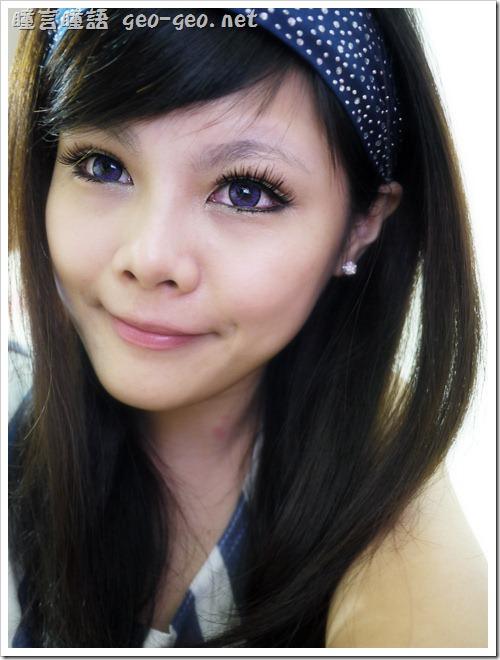 ( 4 ) 品牌:NEO隱形眼鏡 N253巨目紫