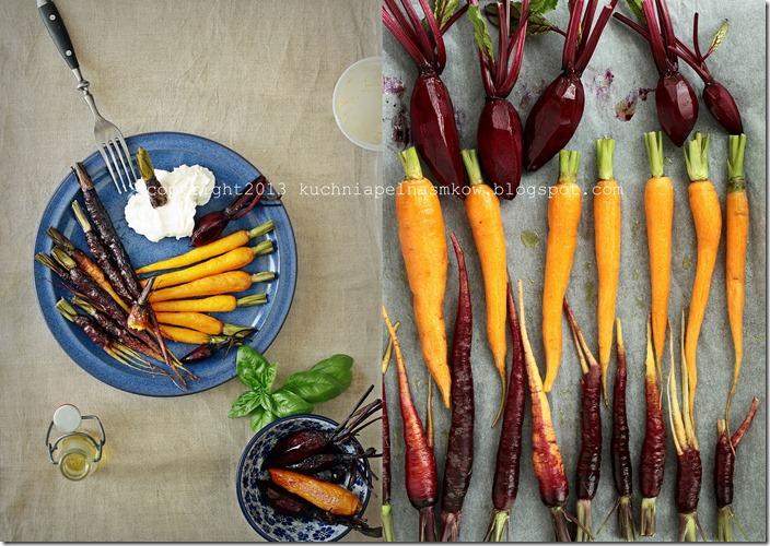 czerwona marchewka pieczona1
