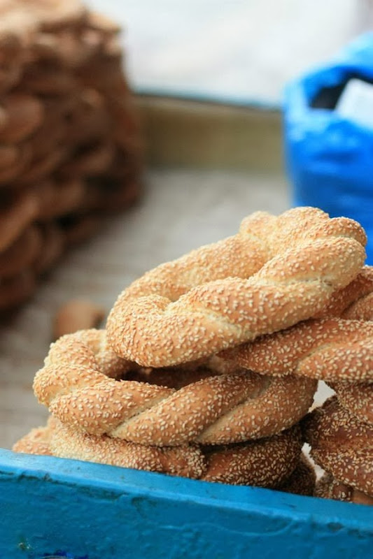 Greek Sesame bread