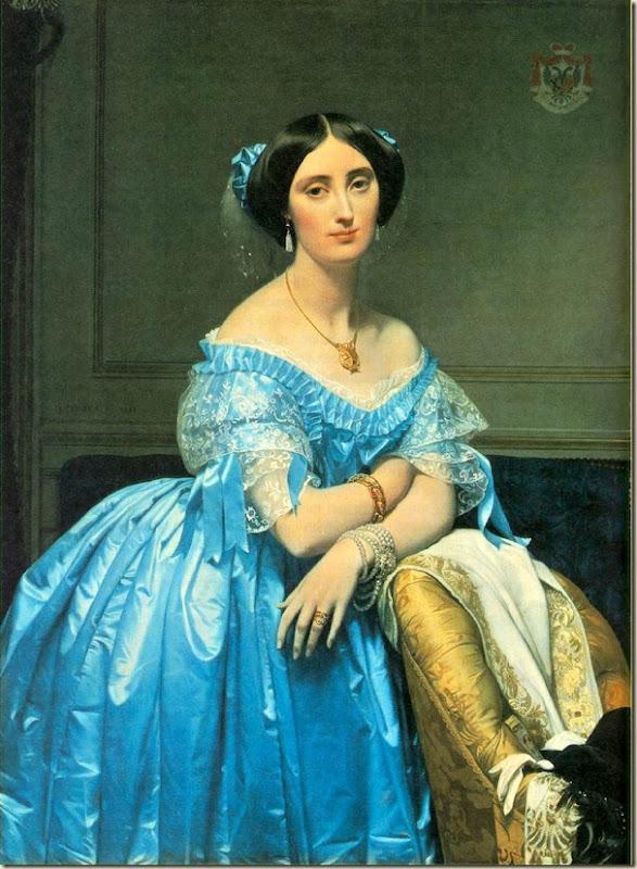 Ingres, La princesse di Broglie 1845