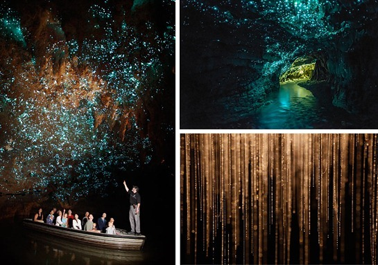 Waitomo-Glowworm-Caves-New-Zealand-boat-group