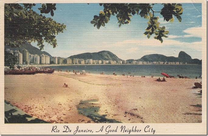 Rio De Janeiro, A Good Neighbor City pg. 1