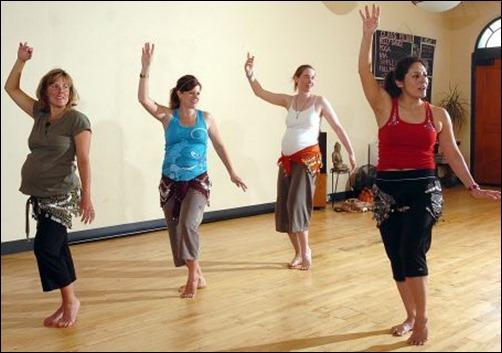 PRENATAL BELLY DANCING CLASS 1