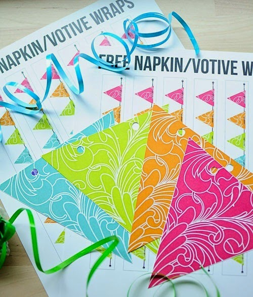 Free PDF Fiesta Party Printables #SummerOutshine #shop