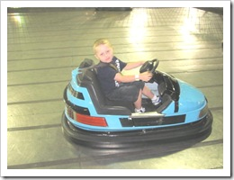 Florida vacation Old Town bumper car twin2