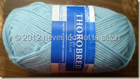 2012 Thorobred 8ply light blue