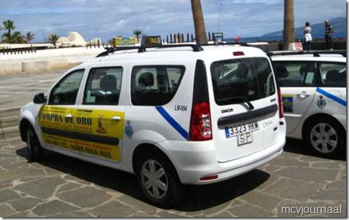 Taxi Tenerife Dacia Logan MCV 03