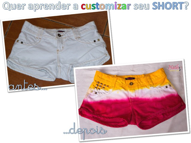 customizar short